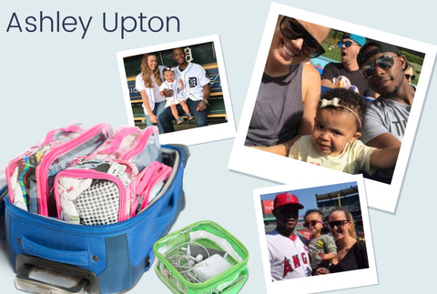 Traveling tips from Ashley Upton, baseball player wife