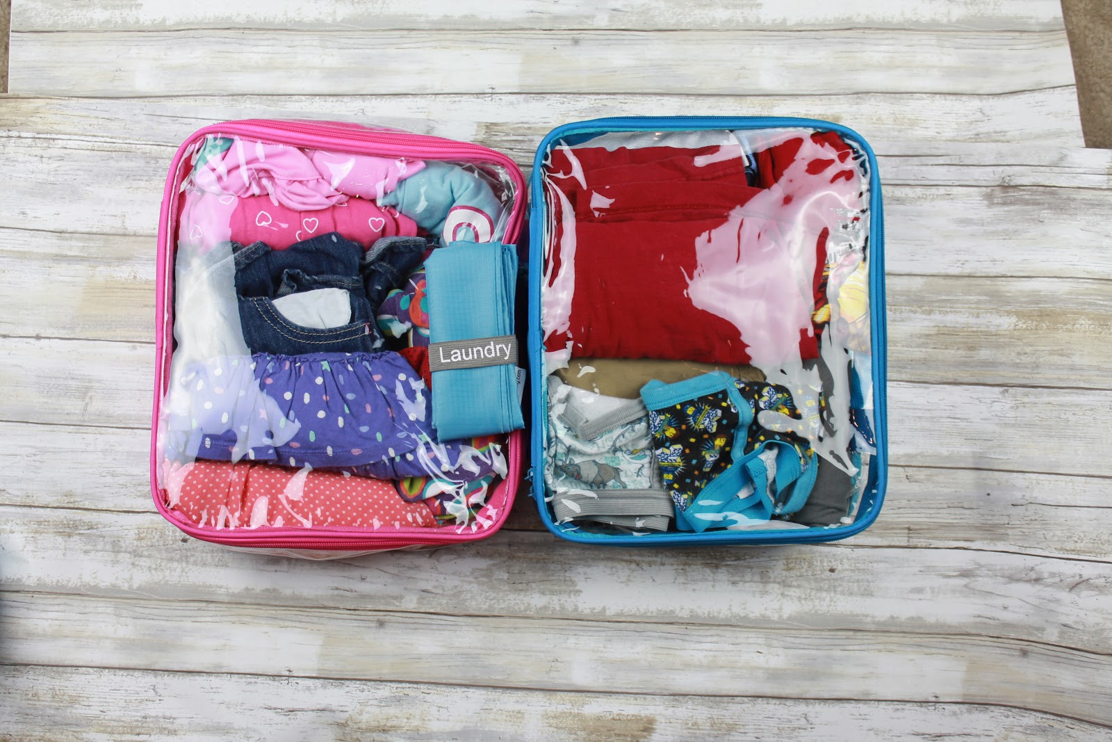Best way to organize kids for month long travel