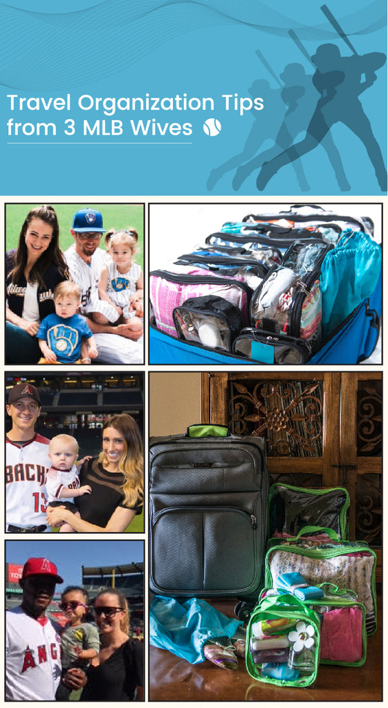 Baseball players' wives and their EzPacking cubes