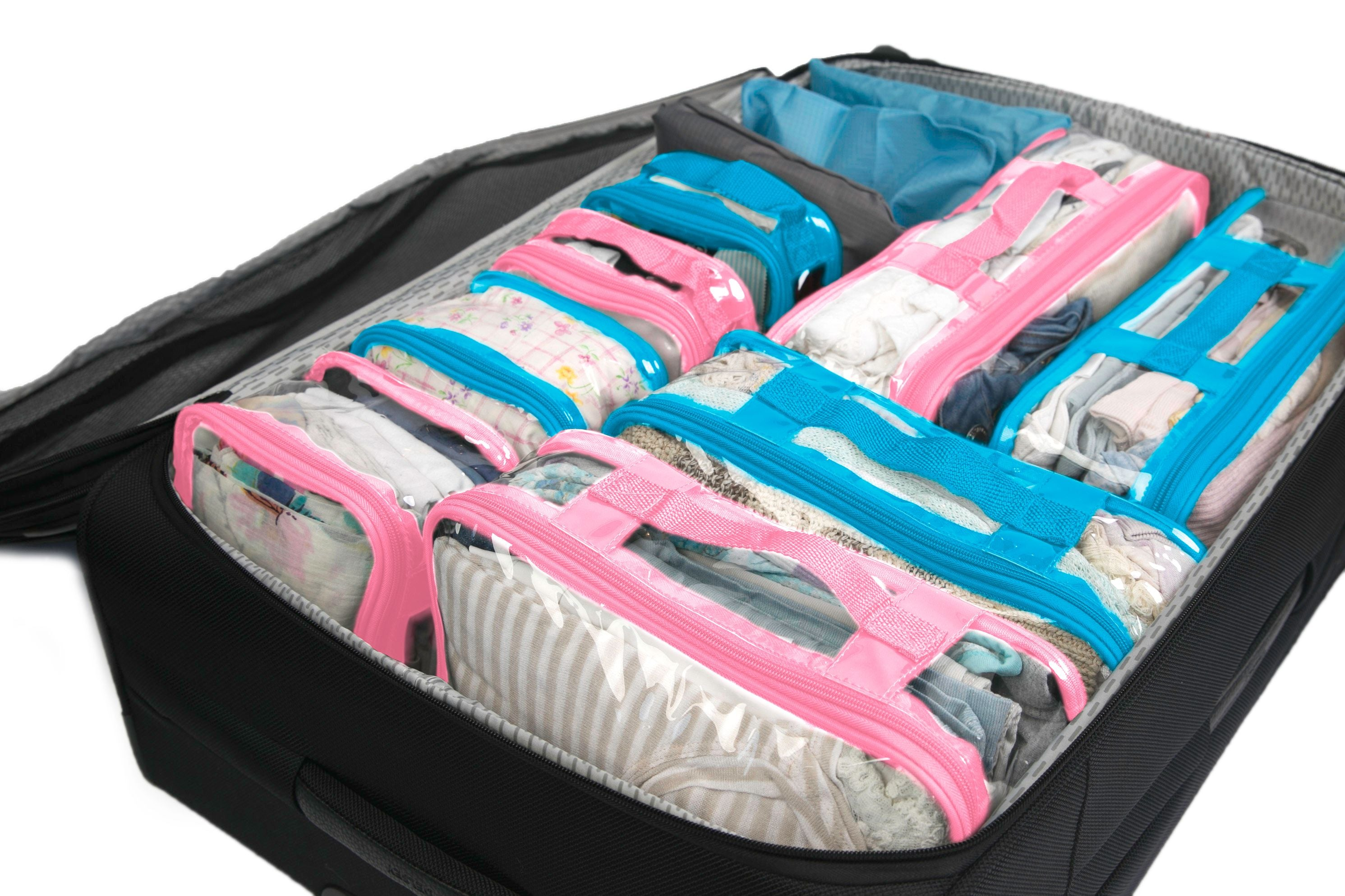 Packing organizers for travel