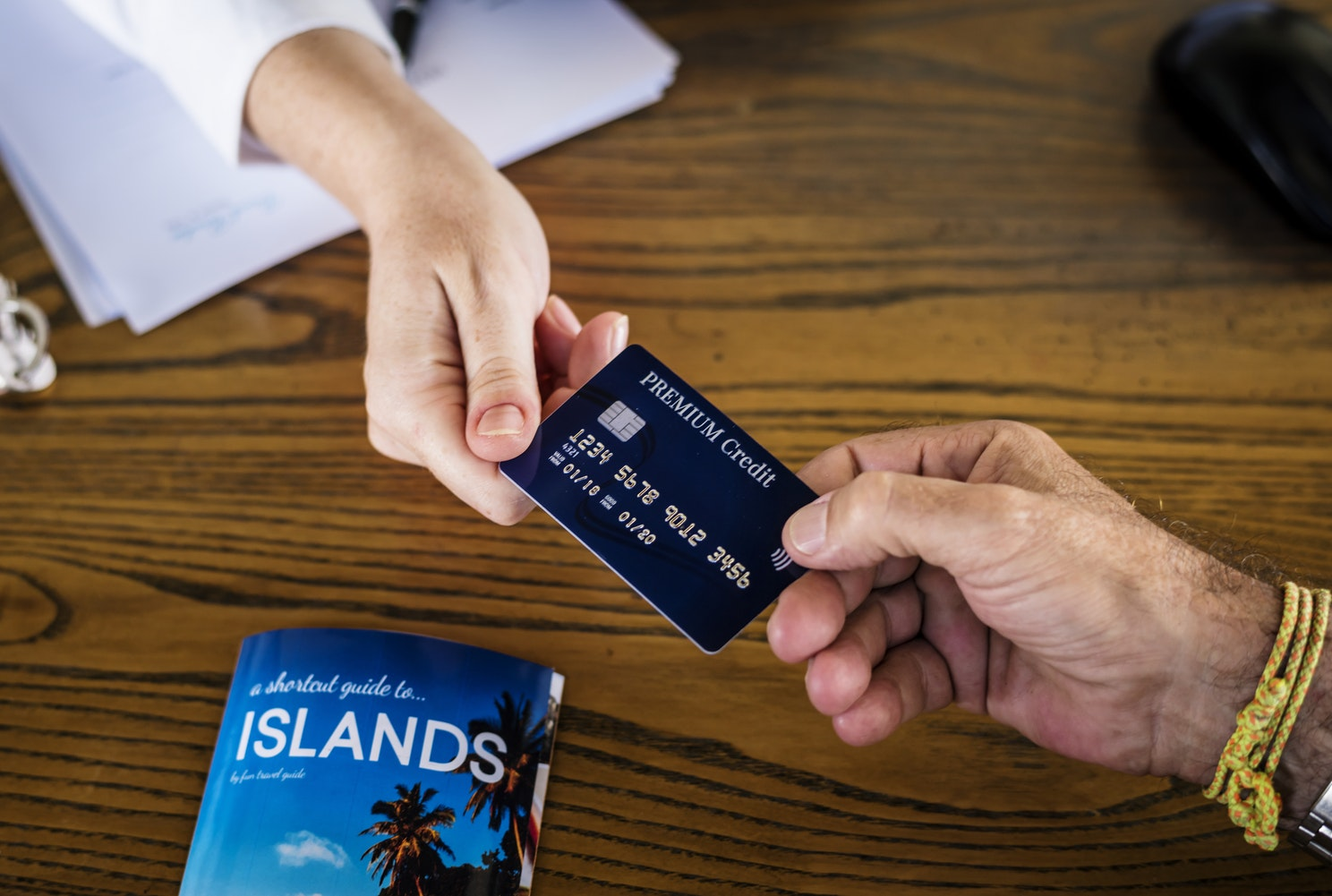 Credit card for cruise expenses