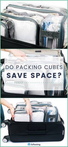 Do Packing Cubes Save Space?