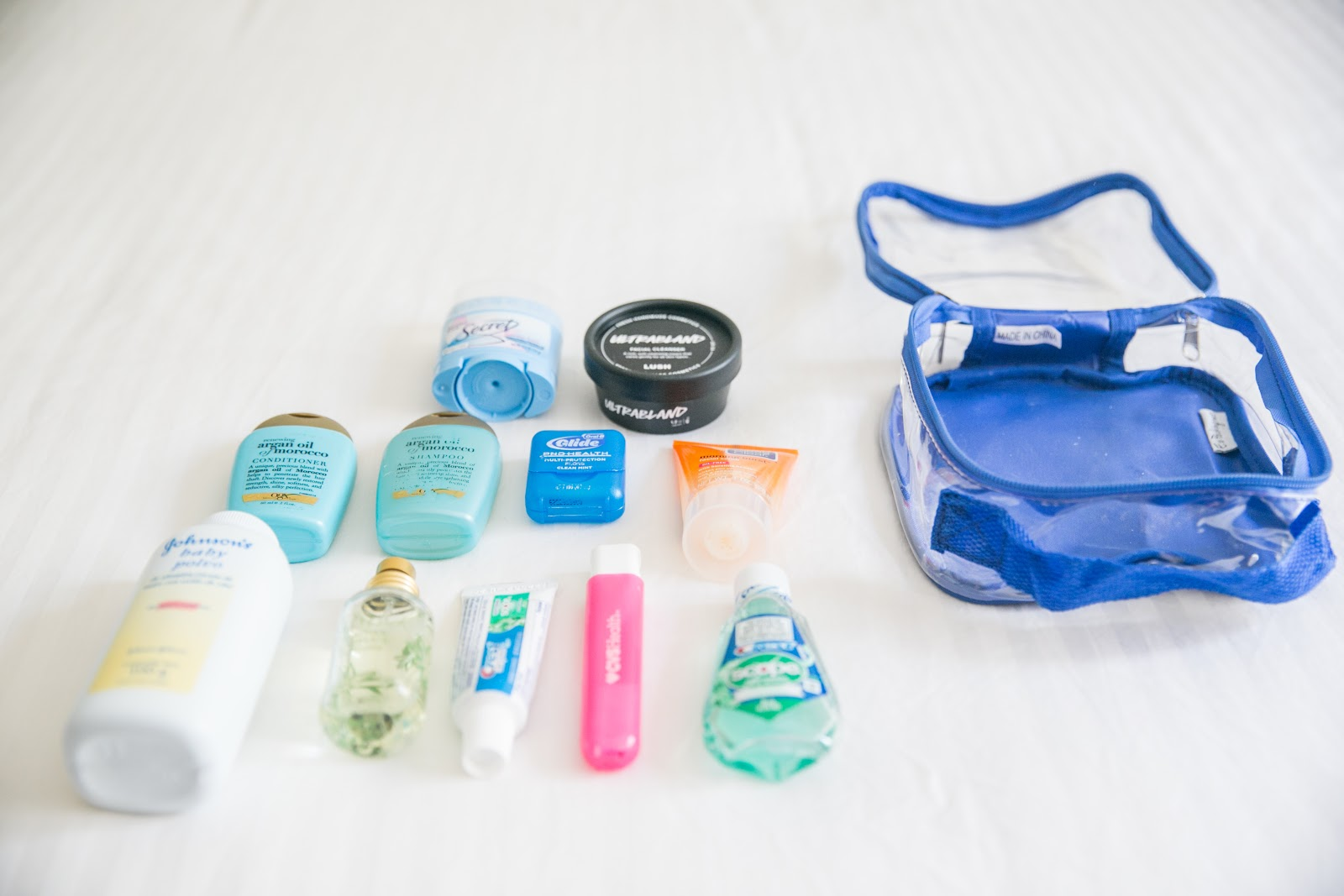 EzPacking TSA approved clear toiletry bag