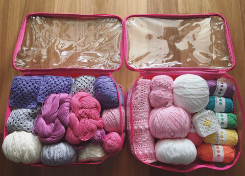 Unique storage idea for EzPacking cubes, use it for storing craft items