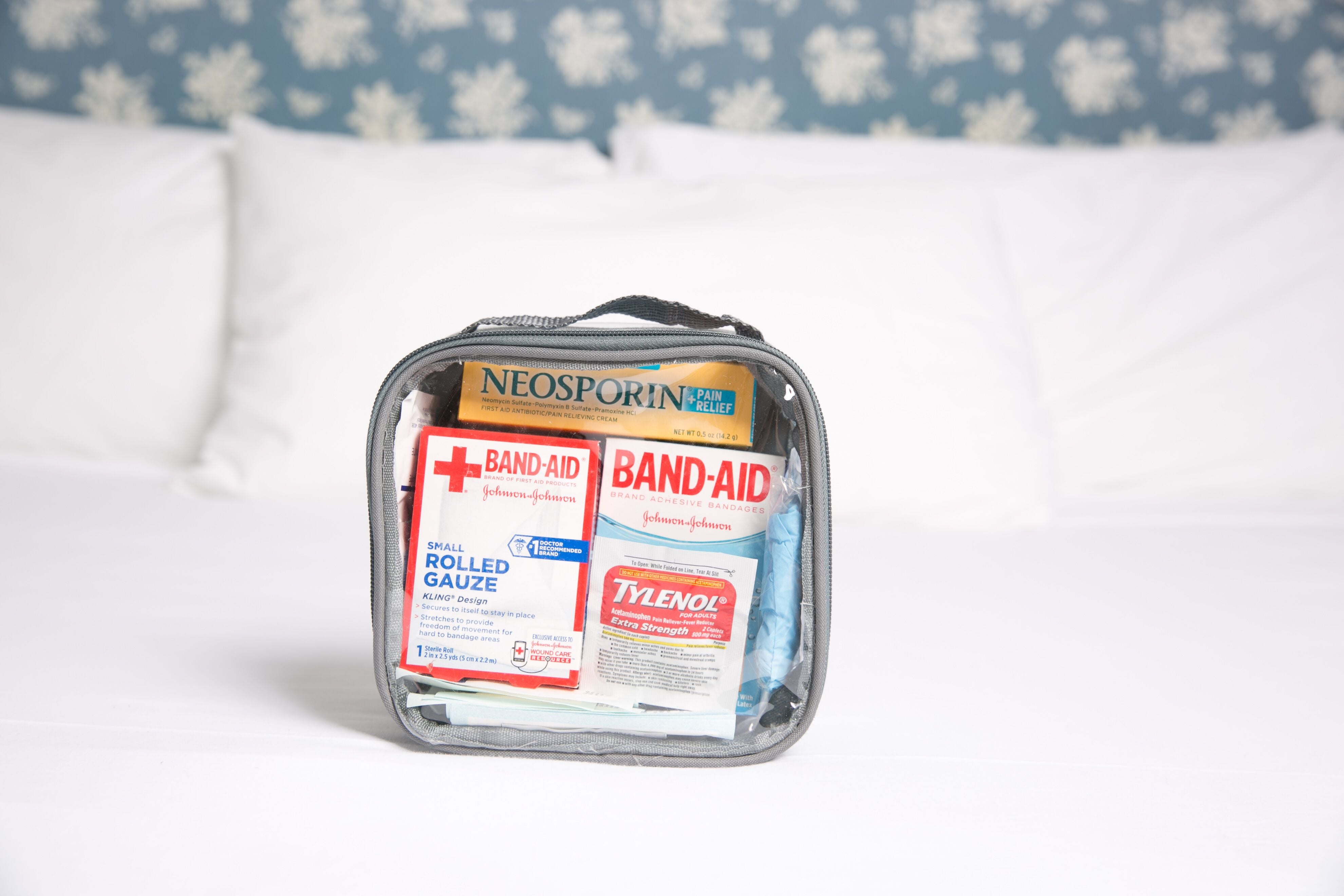 First aid kit for Europe trip essentials
