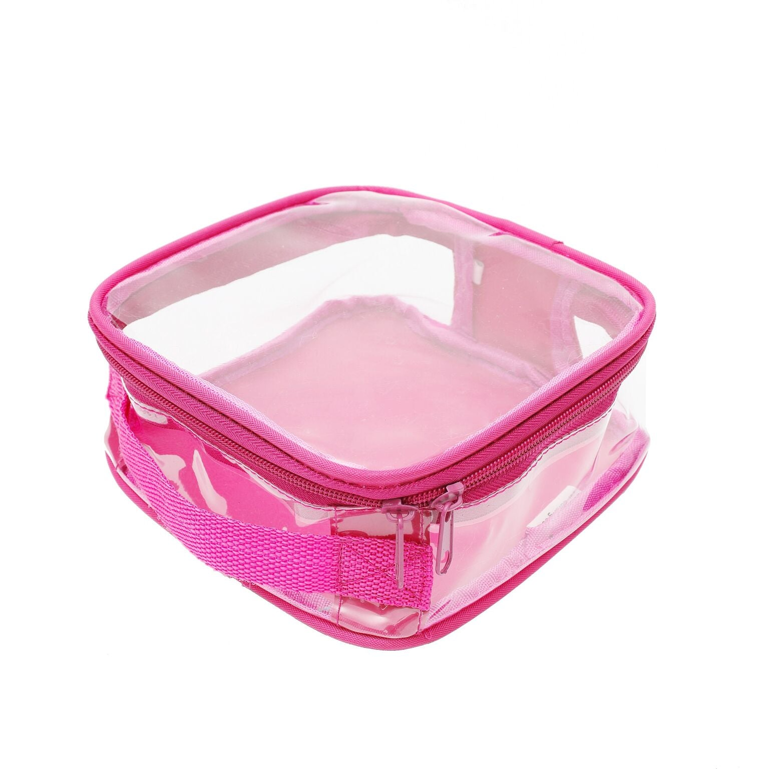 Pink packing cube in extra small