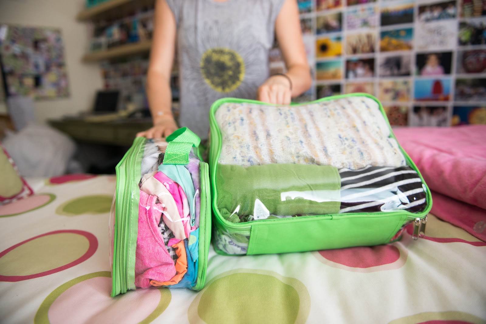 How to use packing cubes for backpacks