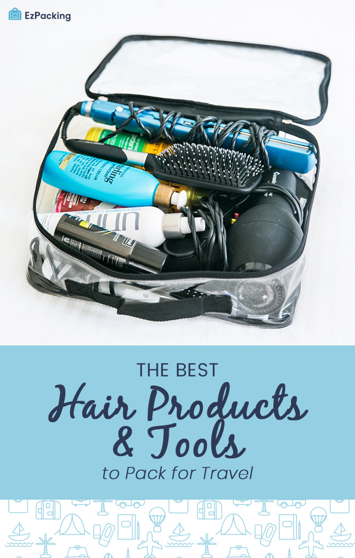 Travel hair tools and products