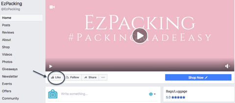 Leave a EzPacking Facebook Review