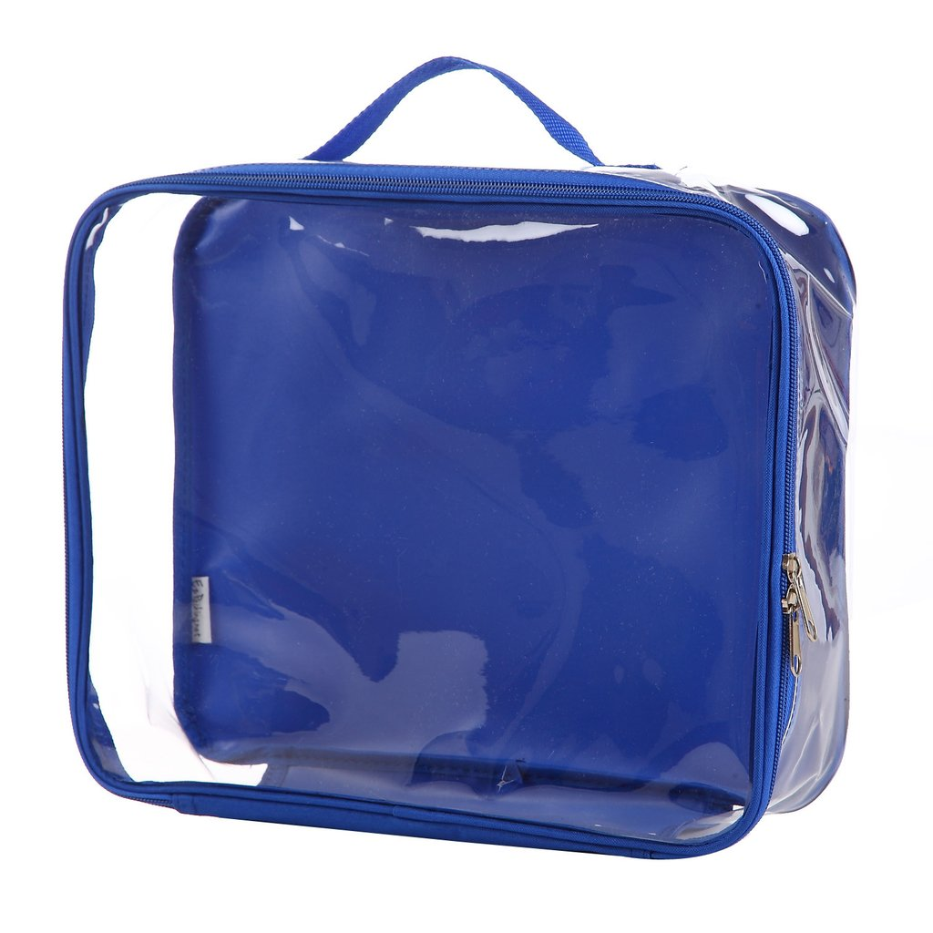 Medium royal blue travel cube