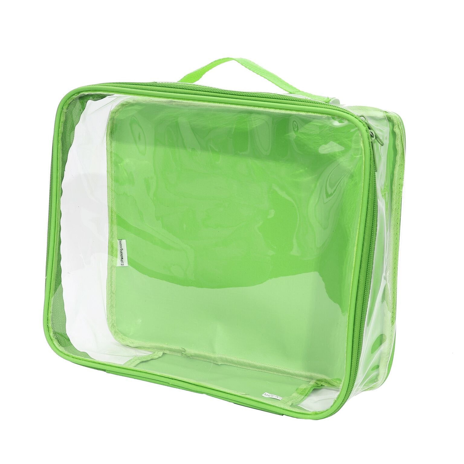 EzPacking green medium cube