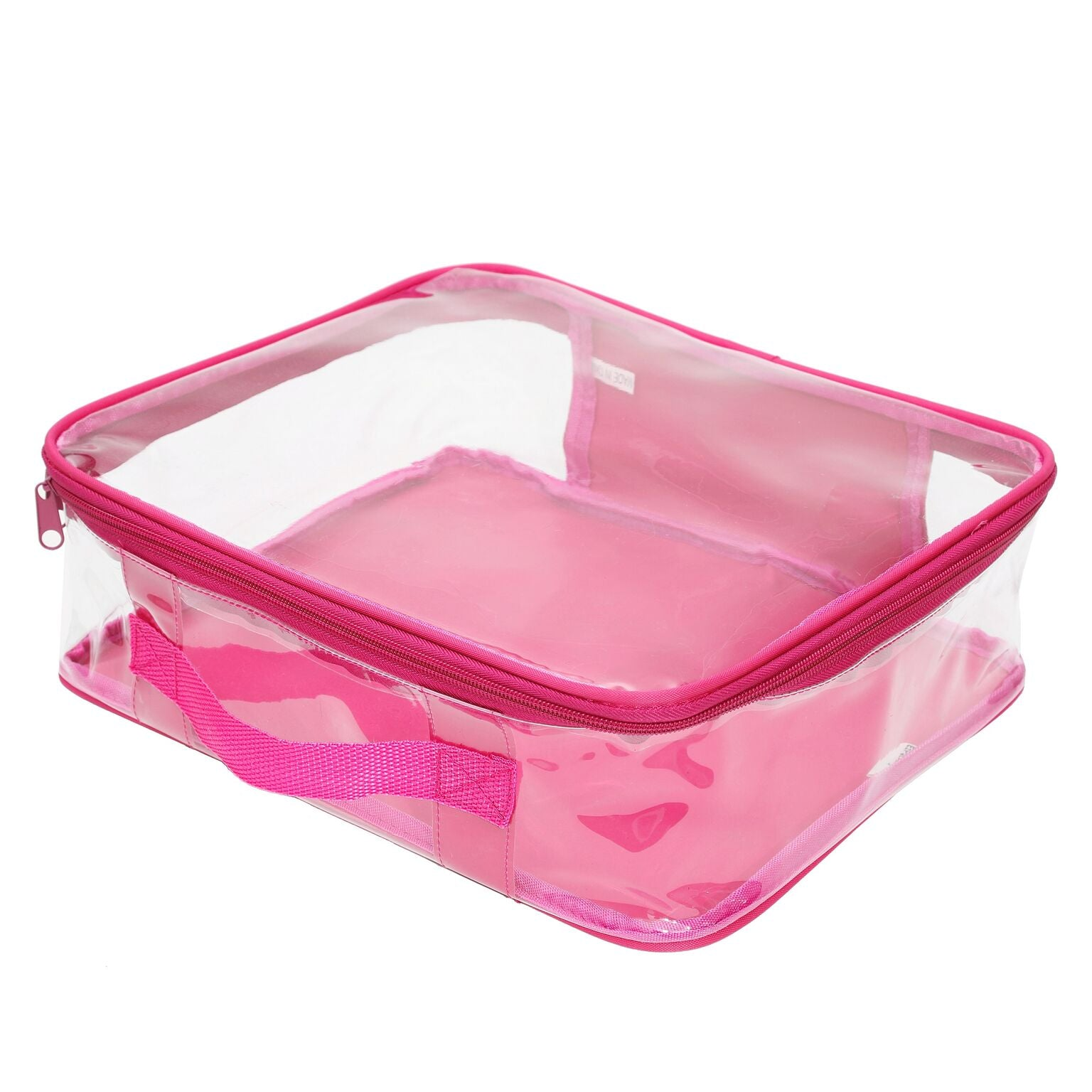 Pink packing cube in medium