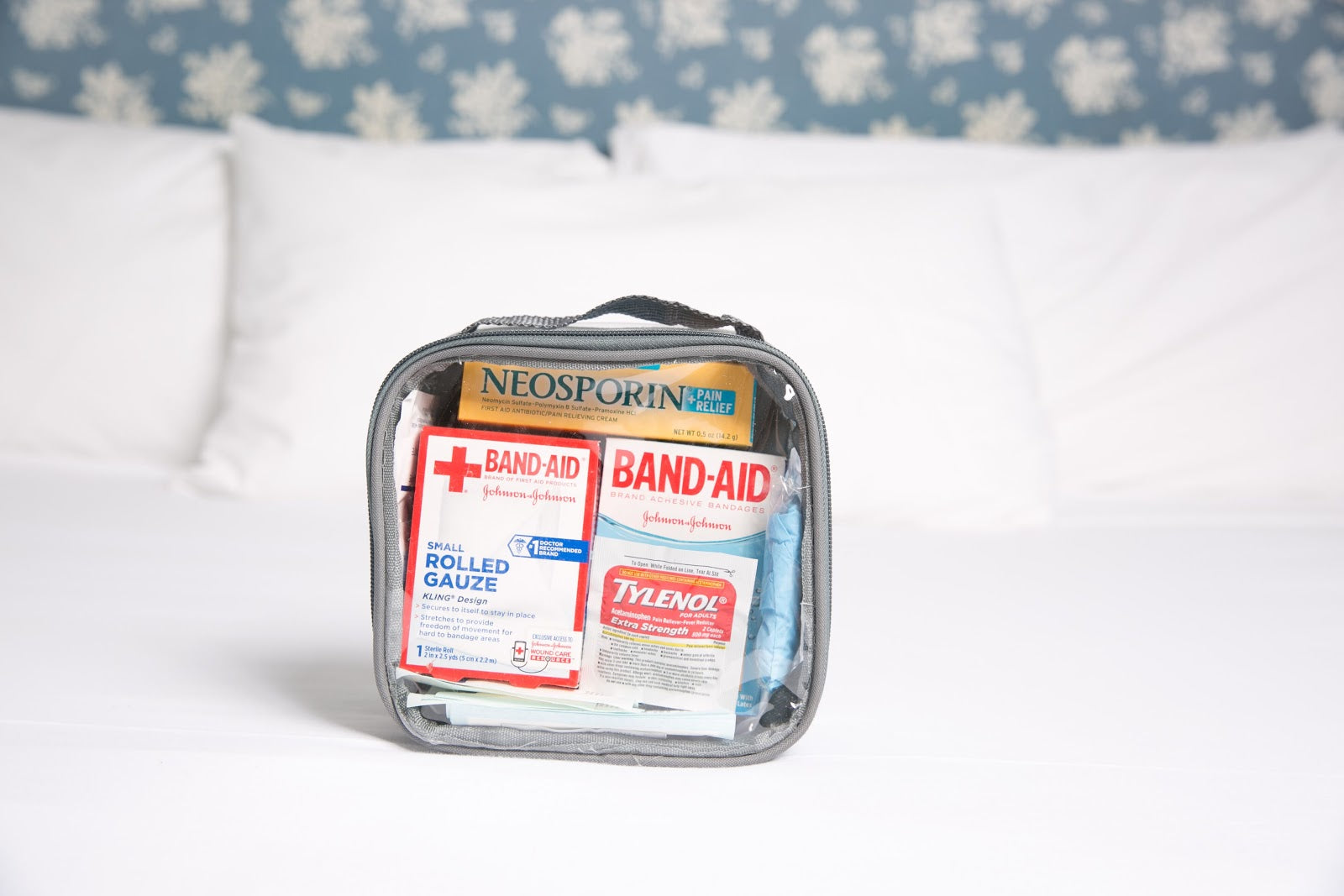 Packing first aid kit tip