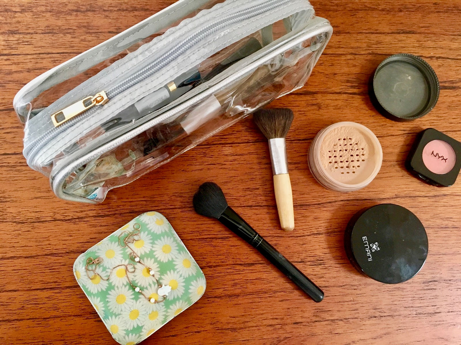 Packing tried and tested makeup tip