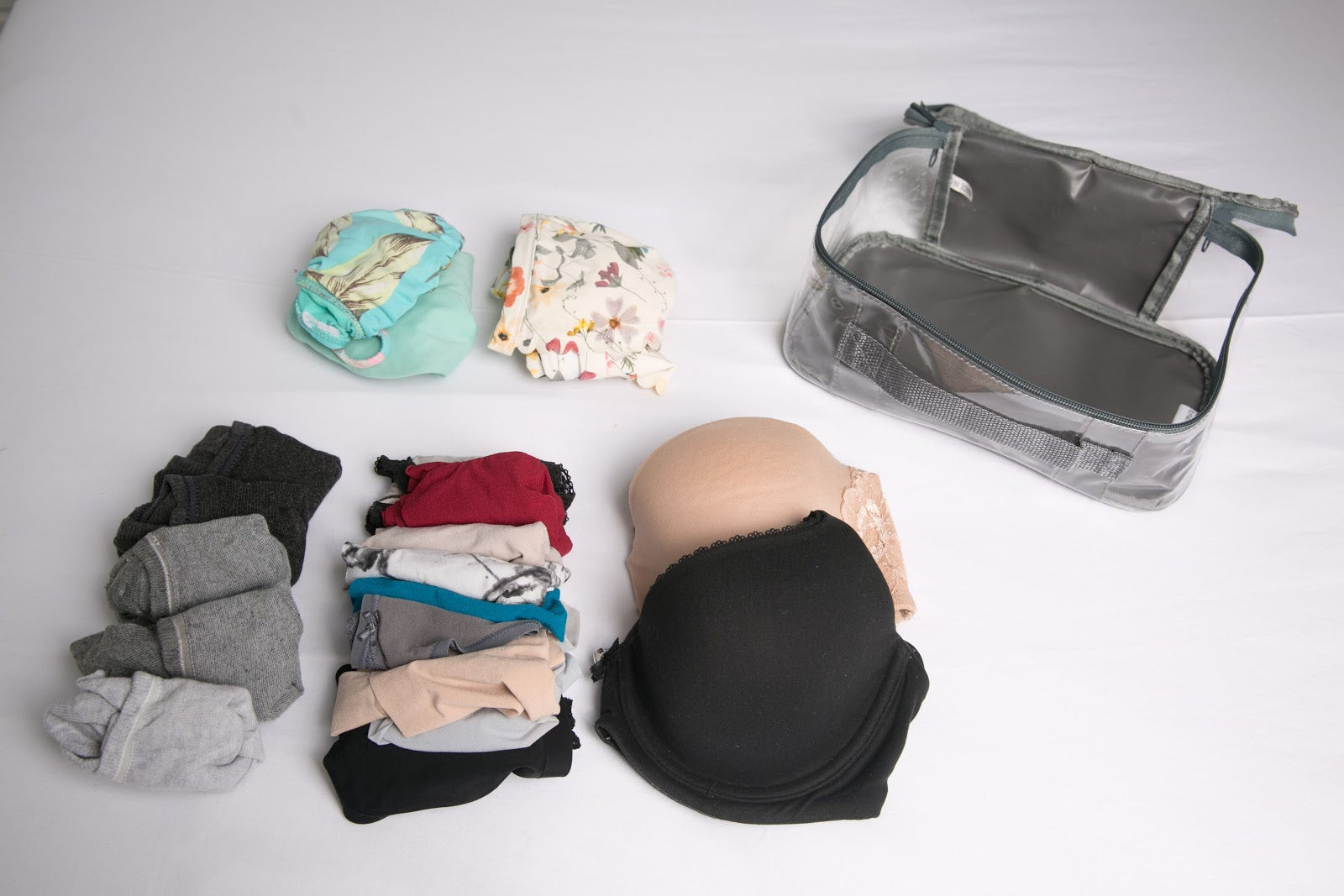How to pack underwear for travel