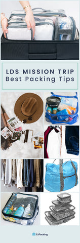 LDS missionary packing tips infographic