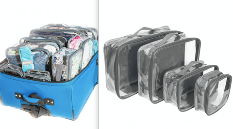 Grey EzPacking cubes set for the volunteer mom