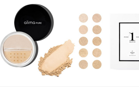 Alima Pure cruelty-free mineral makeup