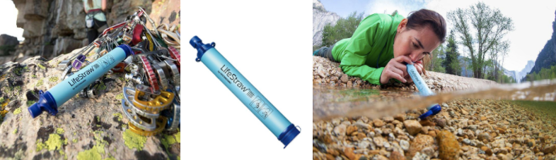 Portable water purifier for trekking trips