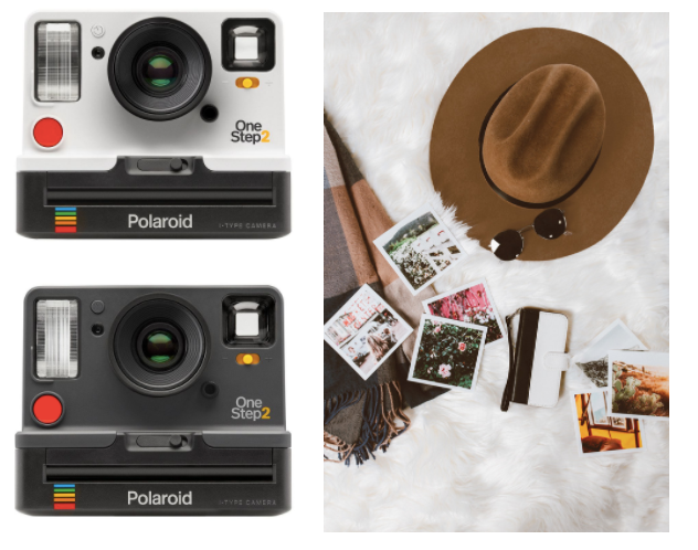 Instant camera and polaroid photos as awesome gift ideas for mom