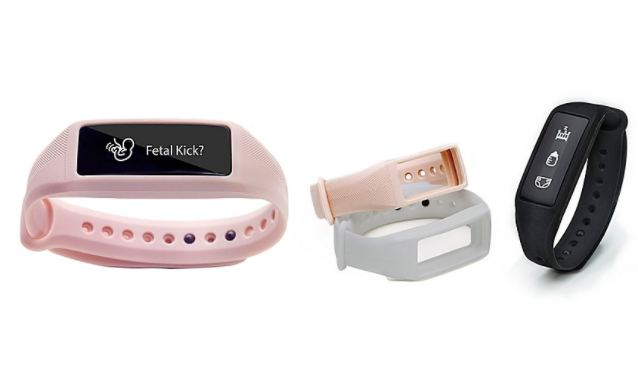 Baby smartband that both moms and dads can use