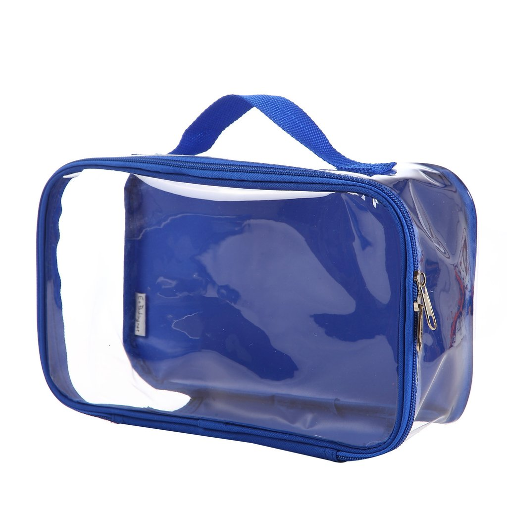 Small royal blue travel cube