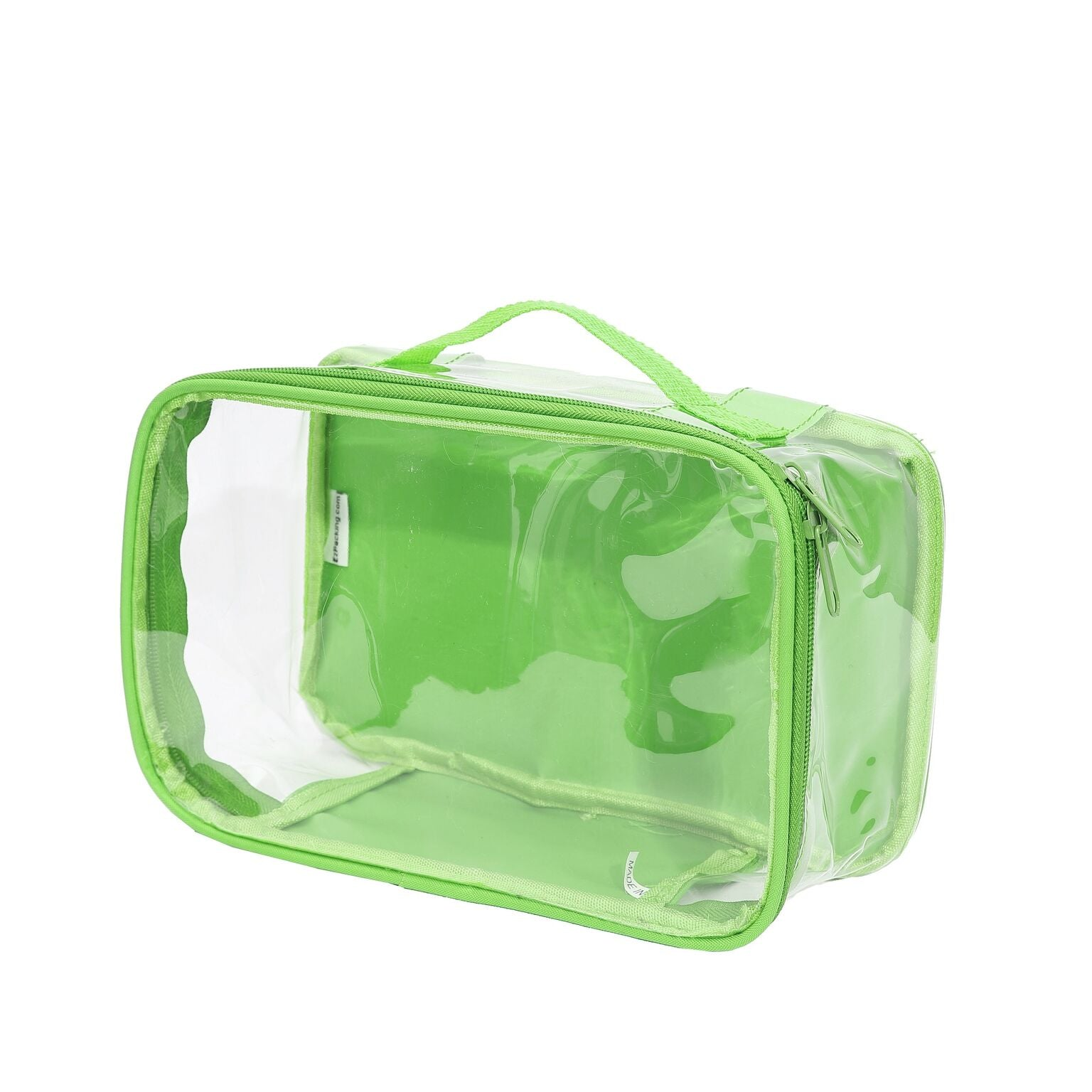 EzPacking green clear makeup bag