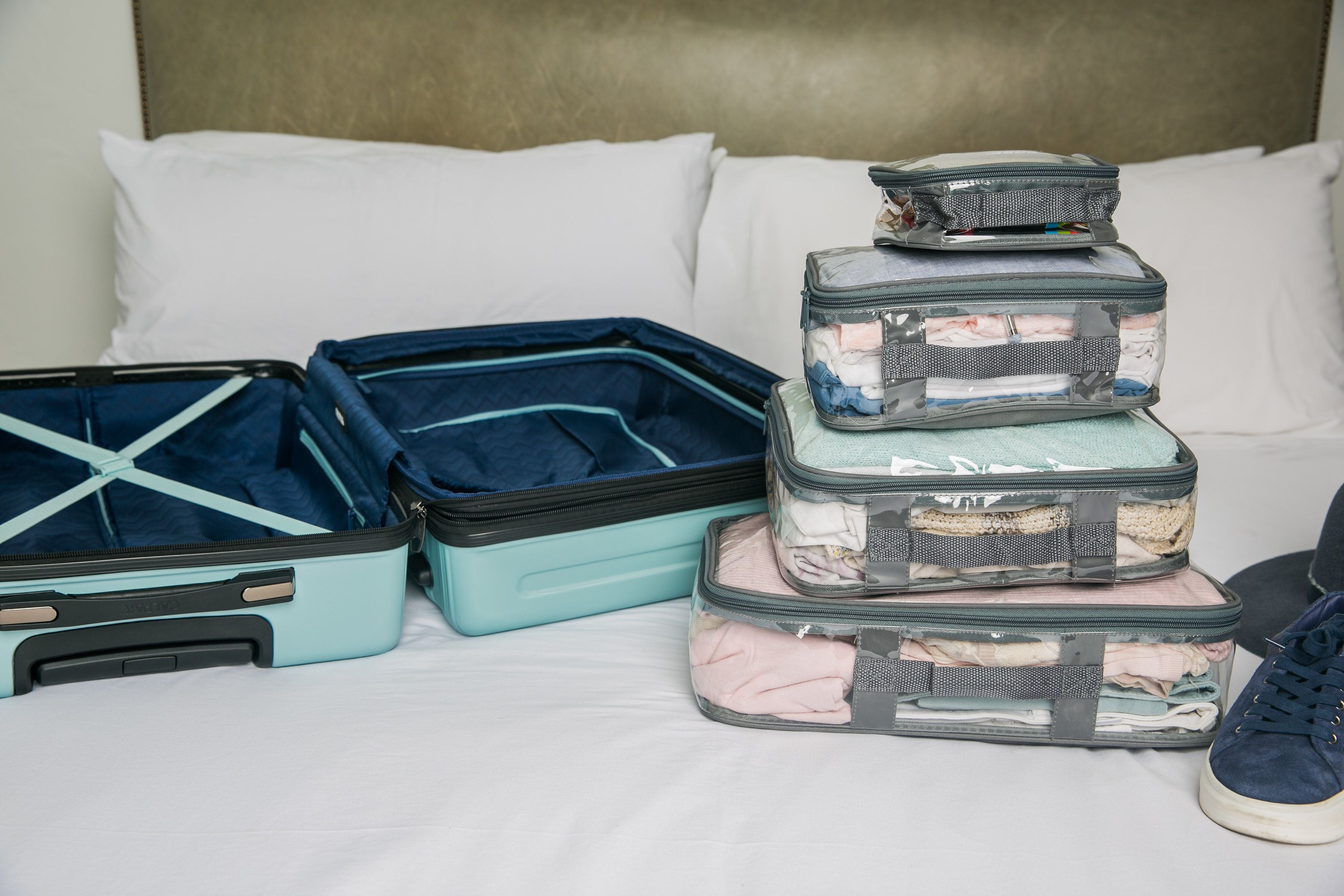 Starter Set in a hard shell suitcase