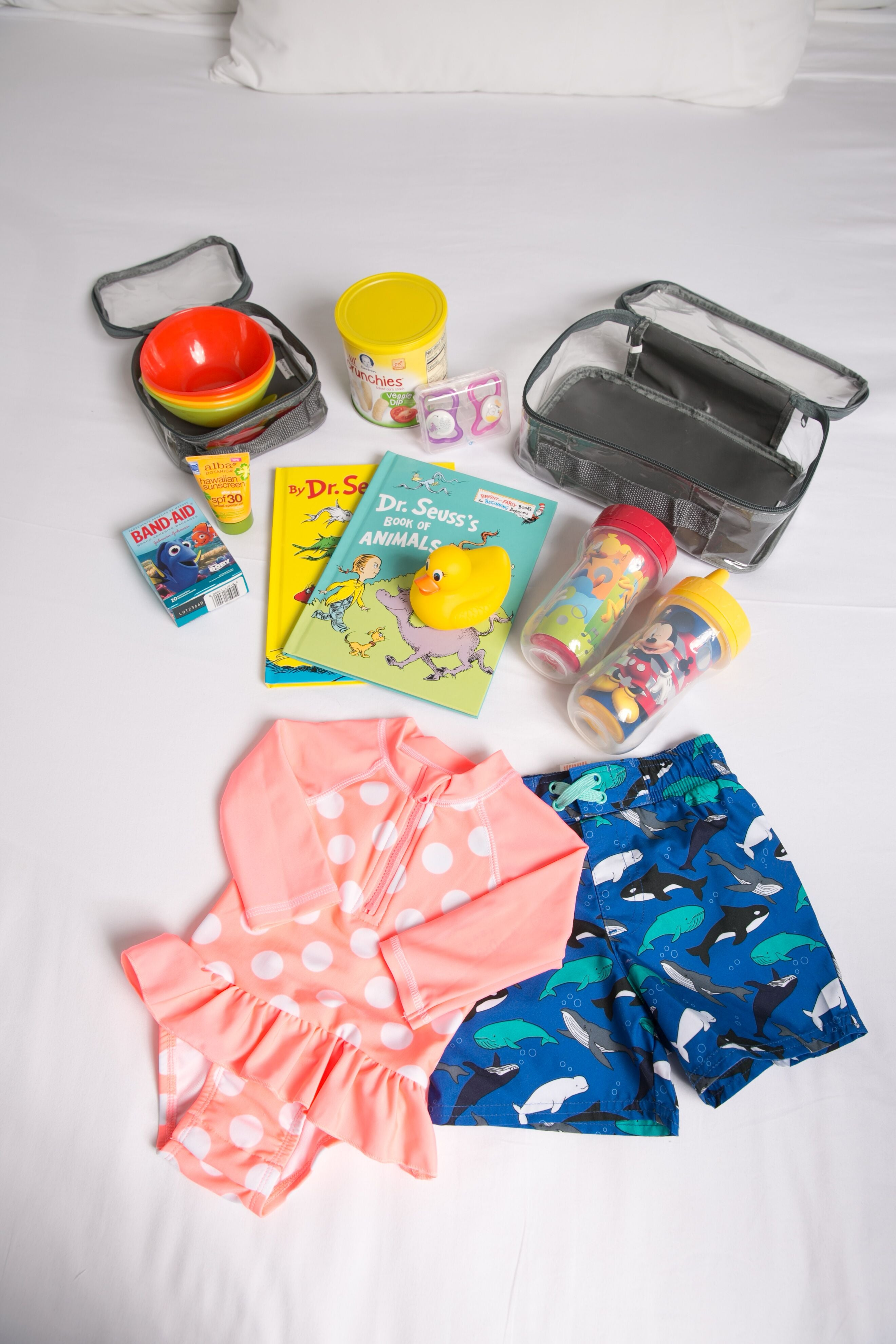 Kids swimwear for Europe packing must haves