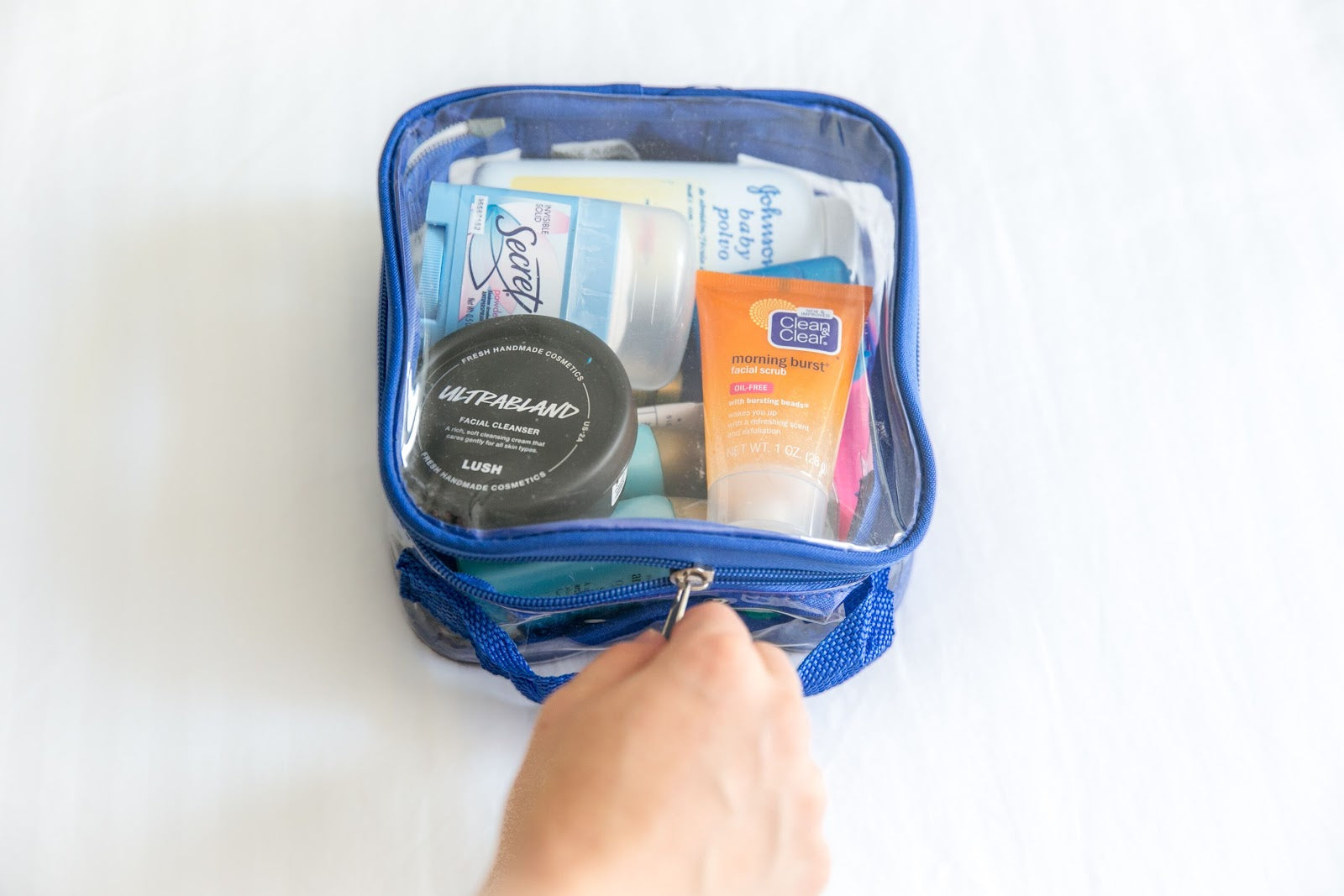 TSA Approved Toiletries Pouch