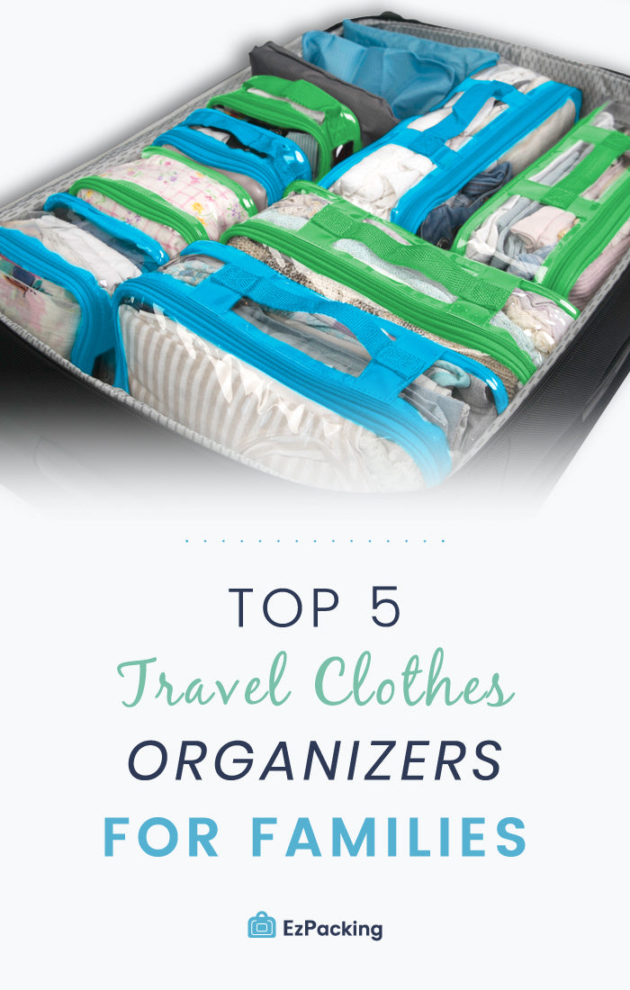 Top 5 luggage organizers for families