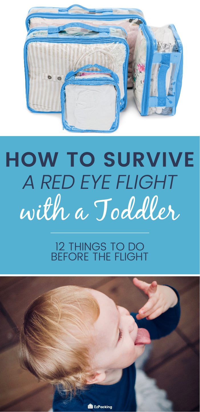 Tips for taking a late night flight with a toddler