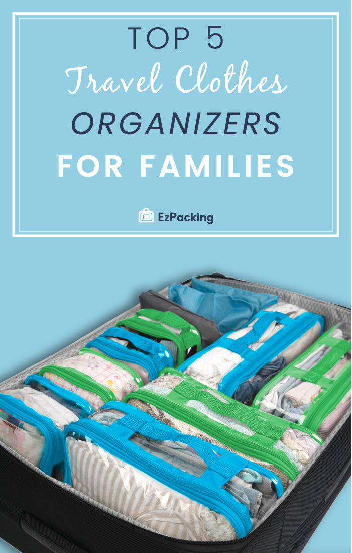 Best luggage organizers for families