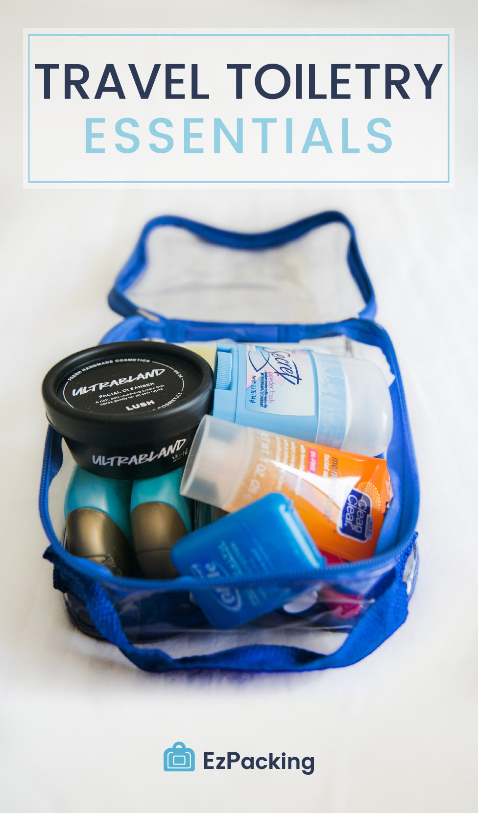 1c63452fbc2d What to Pack in Your Toiletry Bag  Travel Toiletry Essentials – EzPacking