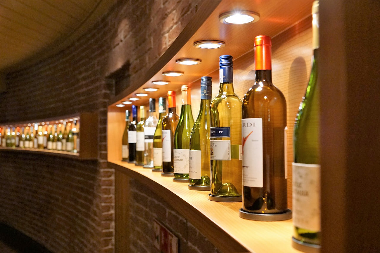Wines in cruise ship