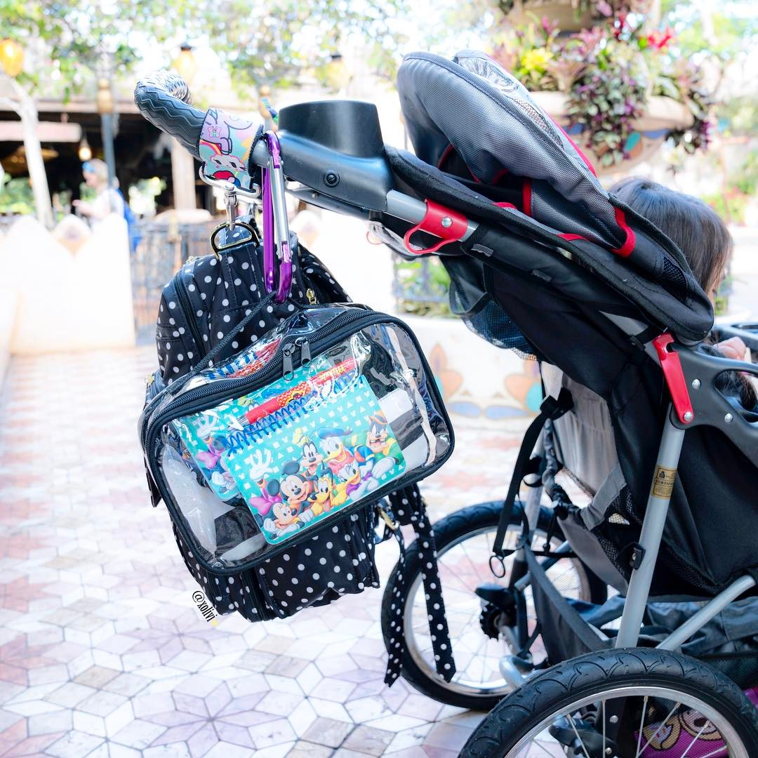 Baby's Stroller with a large cube