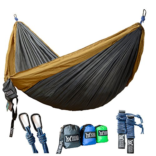 Unique gift idea for outdoor enthusiast mom: A camping hammock