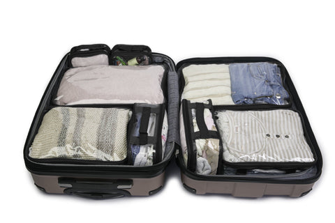 t Green Apple 3 Set Packing Cubes,2 Various Sizes Travel Luggage Packing Organizers