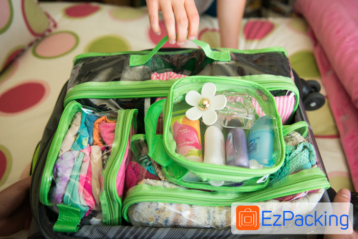 Learn how to pack EzPacking Cubes for an organized suitcase and peace of mind while traveling.