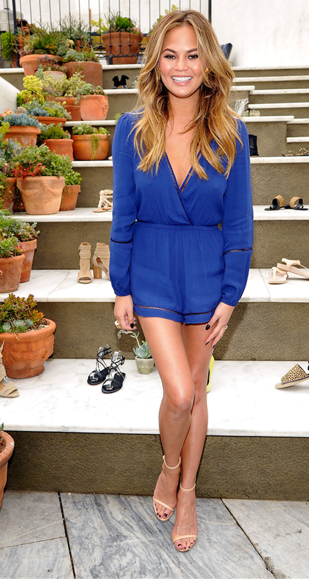 Chrissy Teigen in the Monday to Friday Romper