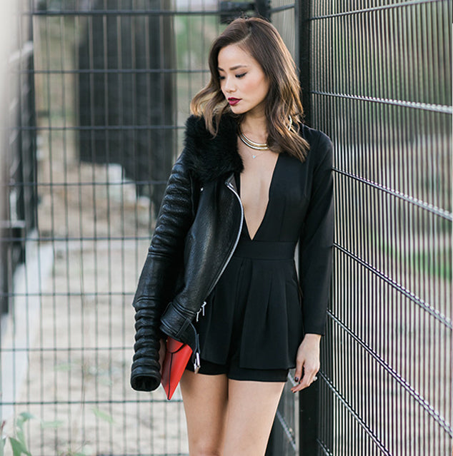 Jamie Chung in the Love Always Romper