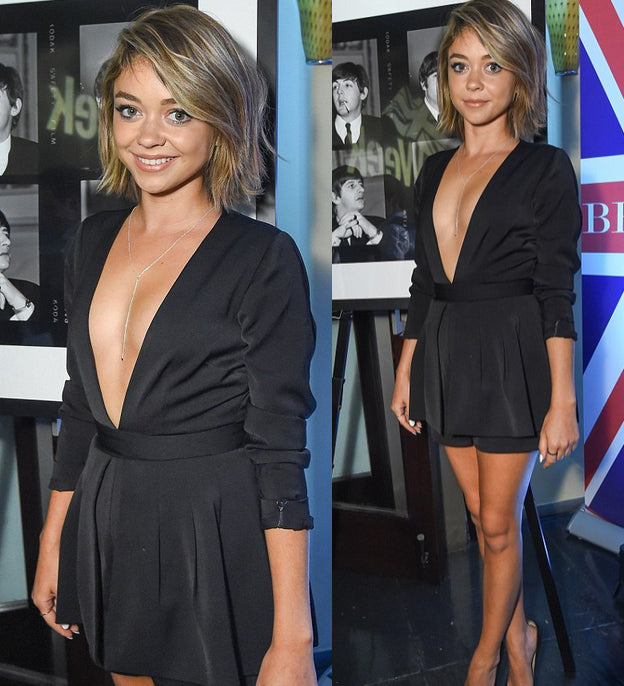 Sarah Hyland in the Love Always Romper