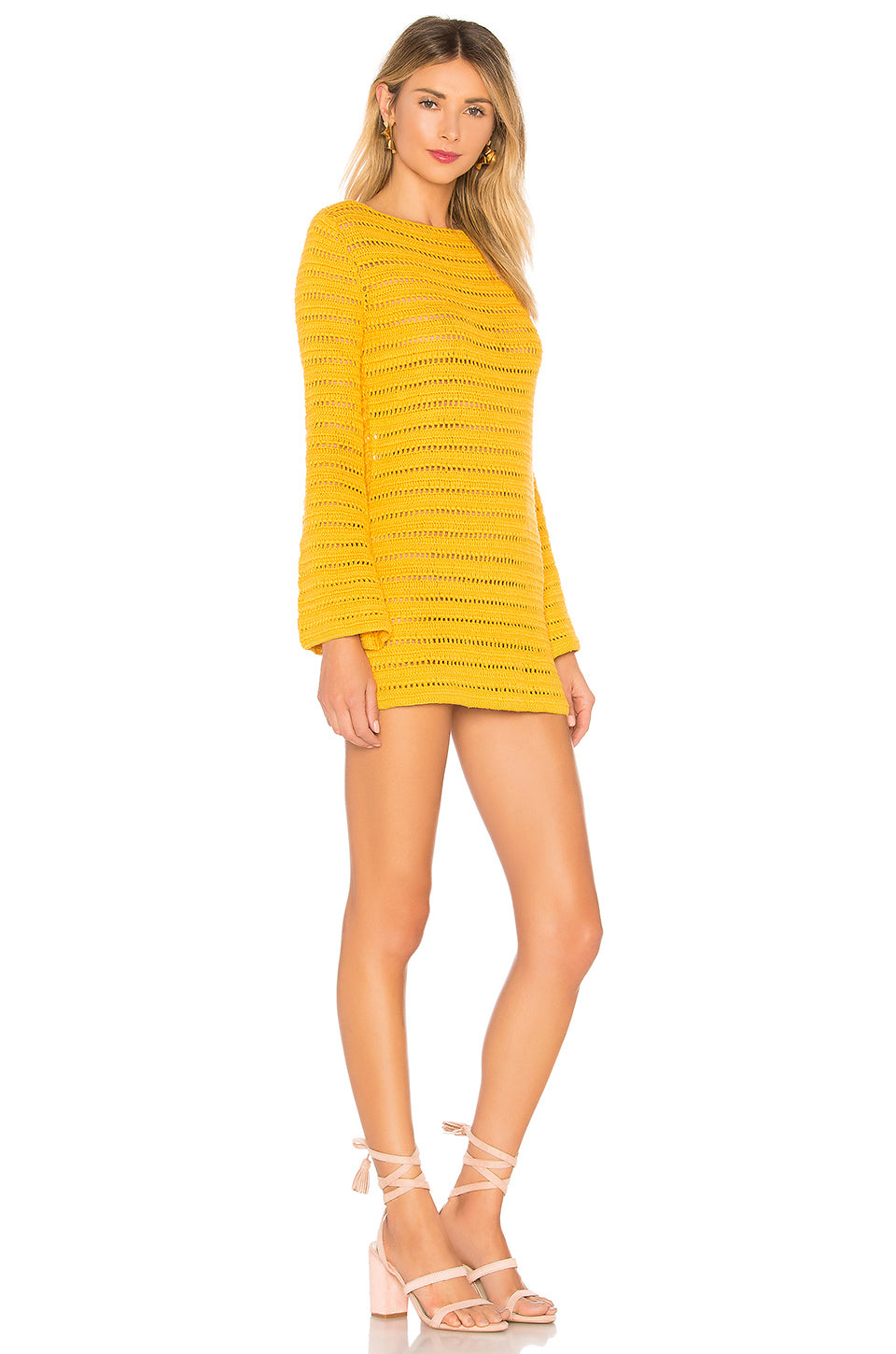Amelia Dress in Canary Yellow | Lovers + Friends - Lovers + Friends