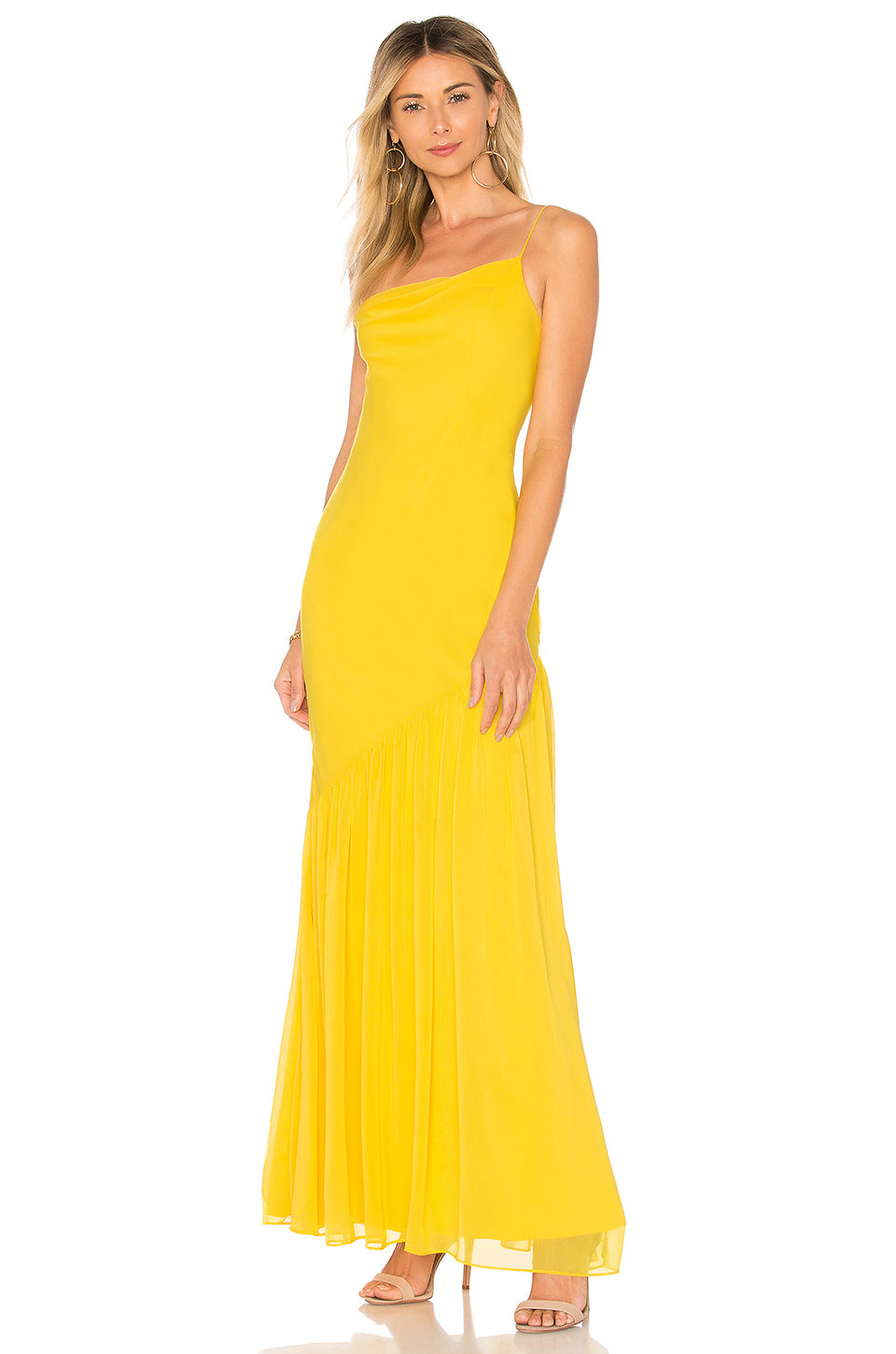 Dawson Gown in Canary Yellow | Lovers + Friends - Lovers + Friends