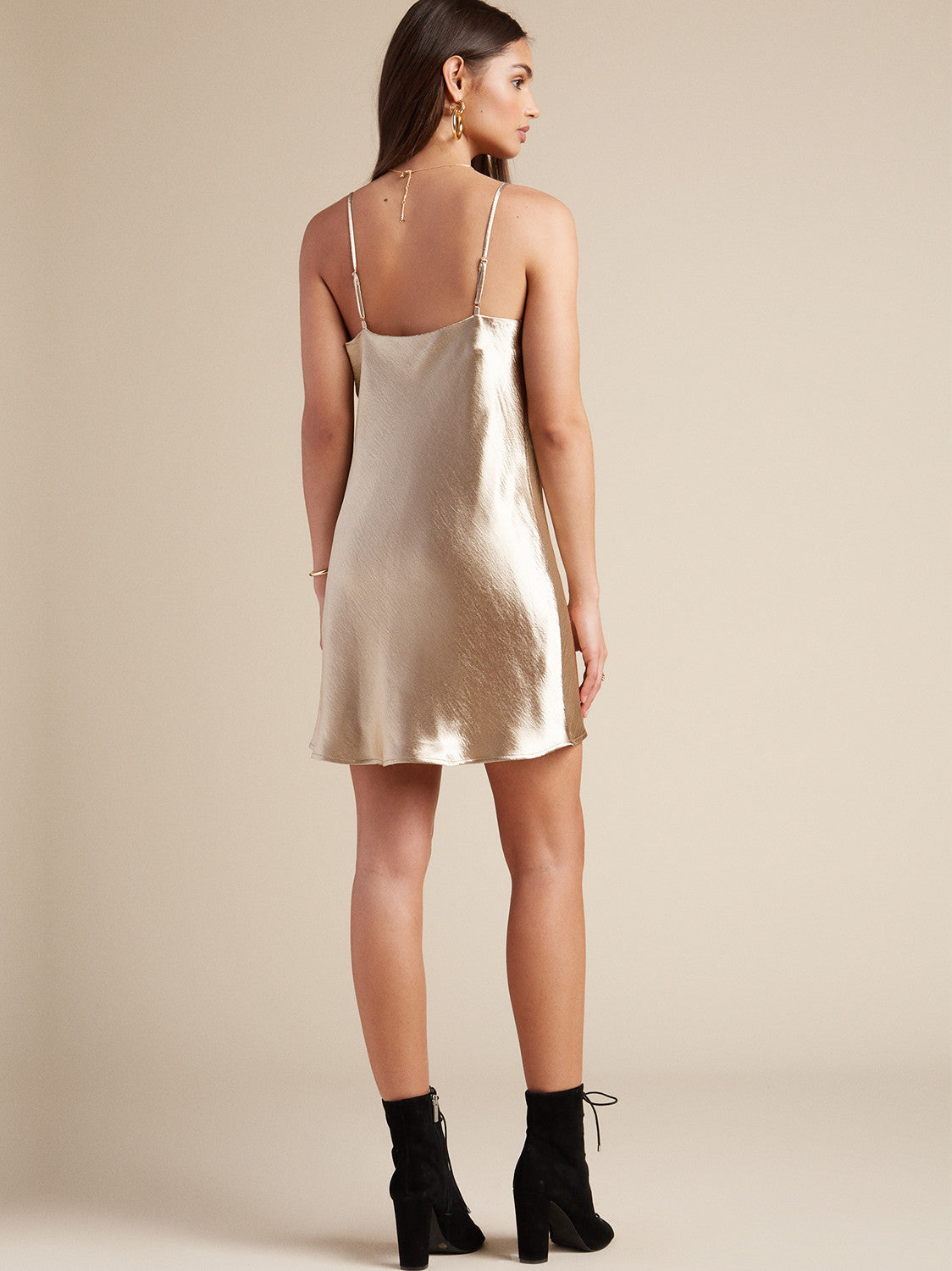 Lover Girl Slip in Gold. - size S (also in M,XS) Lovers + Friends