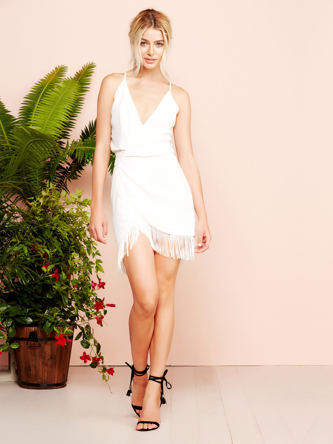 Saturn Mini Dress In Ivory Lovers Friends Lovers