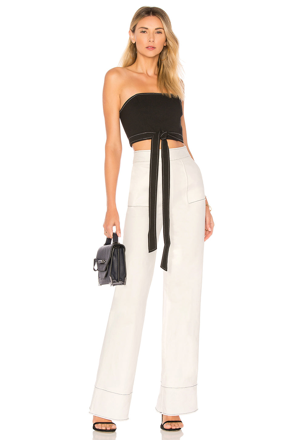 Sedge Pant in White. - size L (also in M,S,XL,XS) Lovers + Friends