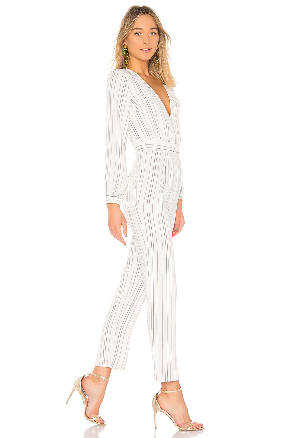 Study Abroad Jumpsuit in White. - size L (also in M,S,XL,XS,XXS) Lovers + Friends