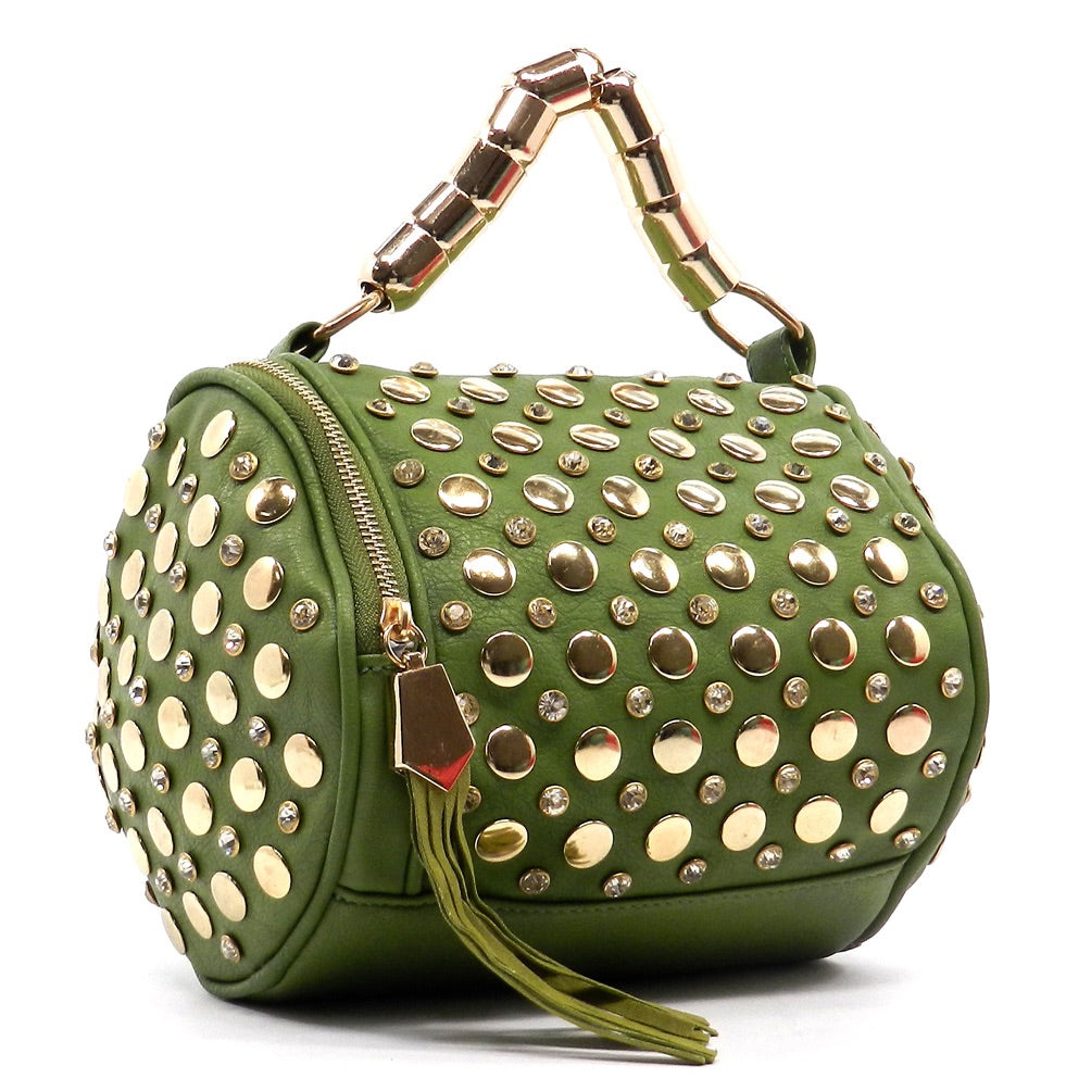 Green Designer Inspired Handbag