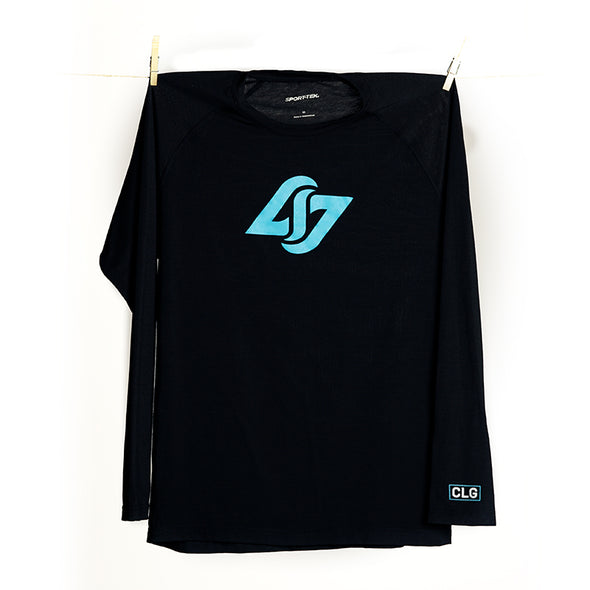 Black+Blue Long Sleeve